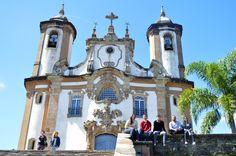 Igreja de Nossa Senhora do Carmo, em Ouro Preto - Minas Gerais/ Brasil.