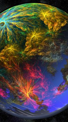 We are larger than life, changes the whole perspective of the world, and from a bigger view. Cosmos, Small World, Fractal Art, Mother Earth, Wonders Of The World, Beautiful World, Beautiful Moon, Stars And Moon, Terra