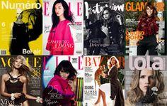 Oba! Começou o mês e nós que amamos revistas já ficamos lotados de leituras para o fim de semana! Aqui as capas de maio do Brasil e do mundo. Looks inspira