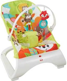 Fisher-Price Woodland Friends Comfort Curve Bouncer.