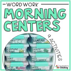 Word Work: Morning Centers —