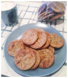 Spelt and ginger cookies, recipe Dan Lepard, Short and Sweet