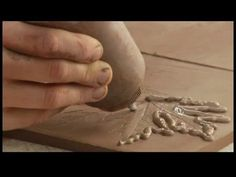 How to Make a Clay Planter : Slip Trailing with Clay