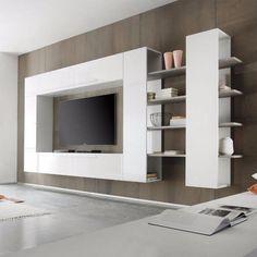 TOP ACTIE Compleet design tv-wandmeubel Line 3 NIEUW