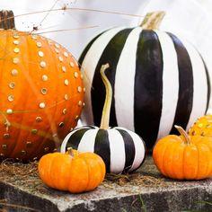Last-minute creative ways to decorate your pumpkin.