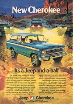 Jeep Cherokee Ad (1974)
