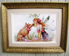 This is a fun, cute piece from Eve O Holiday Photos, Photo Contest, More Photos, Eve, Fairy, Fantasy, Drawings, Illustration, Frame