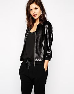 Ted Baker Sequin Bomber Jacket