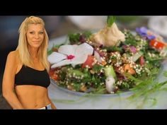 Cara's Amazing Raw Vegan Tabouli Recipe - YouTube