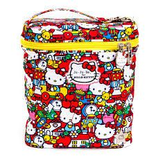 Ju-Ju-Be Fuel Cell in Hello Kitty Tick Tock - bottle or lunch bag... carries all your feeding essentials.