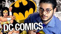 A história da DC COMICS! Rejeitaram o Super Man?