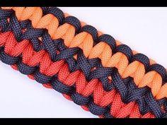 Make the Double Wide Soloman Paracord Survival Bracelet - BoredParacord - YouTube