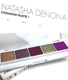 Natasha Denona 5 Palette 10 Review Swatches #natashadenona #eyeshadow #makeup #swatches