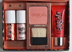 Benefit tropiCORAL makeup kit
