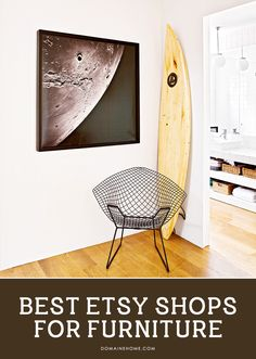 The BEST shops on @etsy to find unique furniture.
