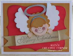 Little Angel Punch Art by punch-crazy - Cards and Paper Crafts at Splitcoaststampers