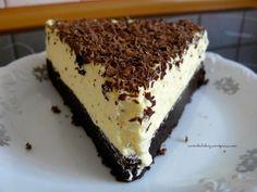 Ciasto czekoladowe z musem cytrynowym ....just niin ;) herkkua joka tapauksessa