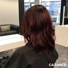 COLORATION & COIFFAGE par #Cazance  Virginia souhaitait un changement de couleur, ainsi qu'un look plus branché & dynamique. Créer des voiles de mèches ciblées pour apporter du relief à la coupe. Avant d'appliquer une pastellisation rouge magenta pour un effet ultra moderne & dynamique. Le tout mis en valeur par un coiffage ondulé pour apporter légèreté & modernité. N'hésitez-pas à consulter nos spécialistes en coiffure ☎ +41 (0)22 320 52 52 #Coiffure #Coiffage #Coloration #LaBiosthetique Rouge Magenta, Look Plus, Relief, Ainsi, Hair Extensions, Hair Cuts, Hair Color, Long Hair Styles, Beauty