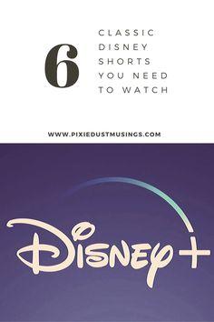 6 Classic Disney Shorts You Should Watch on Disney Plus - Pixie Dust Musings Disney Shorts, Disney Plus, Walt Disney World, Disneyland, Pixie, Smile, Watch, Logos, Classic