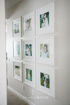 picture wall and have each one with people in the family
