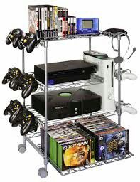 Gaming shelf, that's awesome