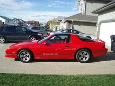 1987 Chevrolet IROC-Z Camaro. What mine will look like someday soon!