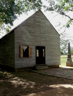 Texas Declaration of Independence signed here in Washington-on-the-Brazos.