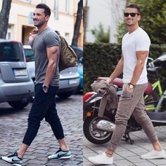 Click the image for cheap dad hats and glasses! Men style fashion look clothing clothes man ropa moda para hombres outfit models moda masculina urbano urban estilo street Gq Style, Mode Style, Men Looks, Mode Outfits, Casual Outfits, Simple Outfits, Stylish Men, Men Casual, Mode Man