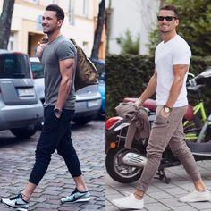 MODA MASCULINA • MENS FASHION sur Instagram : « Usariam o 1️⃣ ou o 2️⃣❓#itboy : @sandroisfree »