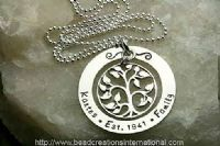 "Family Tree ""established"" necklace"