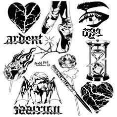 Kritzelei Tattoo, Doodle Tattoo, Card Tattoo, Graffiti Art, Graffiti Doodles, Sketch Tattoo Design, Tattoo Sketches, Cute Tattoos, Small Tattoos