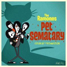 Joey Ramone, Ramones, Hey Ho Lets Go, All Horror Movies, Pet Sematary, Gabba Gabba, Punk Rock, Cartoon Art, Rock N Roll
