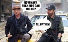 Chuck Norris wird nicht 75, die 75 wird Chuck Norris – die besten Witze zum Geburi