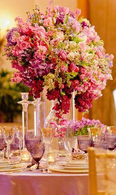 ♆ Blissful Bouquets ♆ gorgeous wedding bouquets, flower arrangements & floral centerpieces - gorgeous floral centerpiece