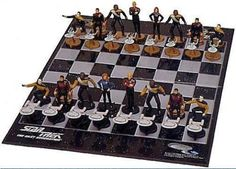 Star Trek Chess Set the Next Generation * To view further for this item, visit the image link.