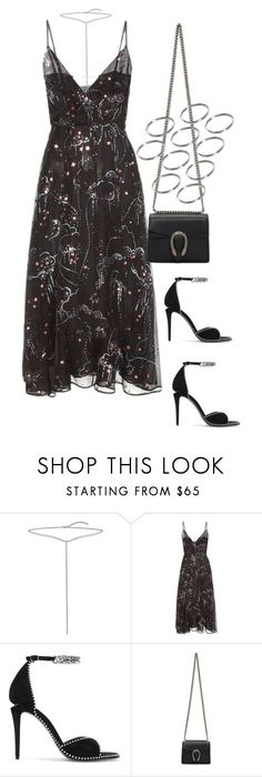 """Untitled #4312"" by lily-tubman ❤ liked on Polyvore featuring Bling Jewelry, Valentino, Alexander Wang, Gucci and ASOS"