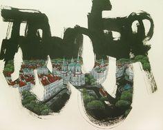 """Saatchi Art Artist Jieun Park; Painting, """"50. A little talk-praha(SOLD)"""" #art"""