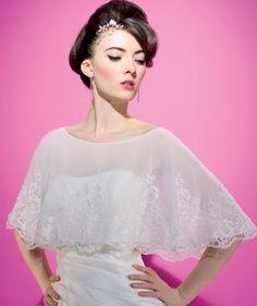 Boleros, estolas y chales como complemento a tu vestido - bodas.com.mx
