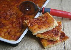PIZZA IN TEGLIA SOFFICE E FACILE- ricetta lievitata