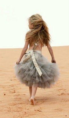 wonderful dress. young girl.