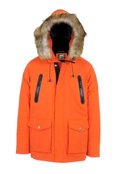 Down-Filled Parka with Waterproof Zippers 90ed370e44