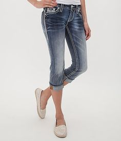 Rock Revival Benna Cropped Stretch Jean at Buckle.com