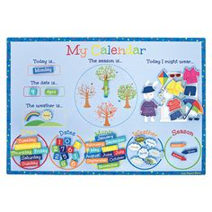 Magnetic Calendar, Activity Toy, Gifts and Toys