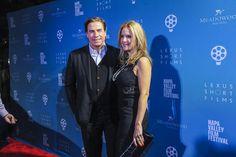 Kelly Preston and John Travolta, NVFF Celebrity Tributes | by Napa Valley Film…