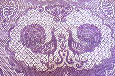 70s Peacock Fabric