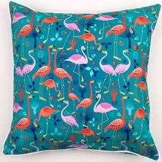 Flamingo Love Pillow