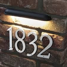 Shop DEKOR® Lighting's LED Outdoor Wall Light - the perfect way to highlight your retaining walls. Installs in stonework, concrete, masonry and more. Led Outdoor Wall Lights, Led Wall Lights, Outdoor Lighting, Exterior Wall Light, Exterior Lighting, Illuminated House Numbers, Signage Light, Entrance Signage, House Plaques