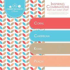 ⚜️⚜️ Inspiring Color Combination: March's Birthstone Aquamarine ❇️ Charming Printables