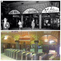Flinders Street Station - Melbourne, Australia. Our 'functioning' 2013 myki system!