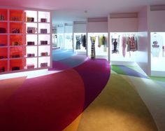CUSTO flagship store Madrid by Teresa Sapey  Photo Credit A. L. Baltanas